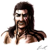 Draven Semi-Realism Practice by Dargonite