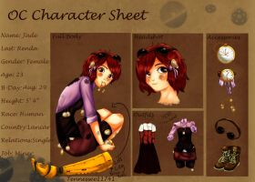 Jade R. .:Character Sheet:. by Tennessee11741