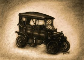 Old Ford by Bonniemarie