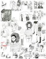 Doodles 2013 (a few of them) by paulamartinez
