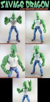 Custom Savage Dragon Figure by KyleRobinsonCustoms