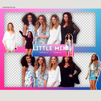 Pack Png - Little Mix. by ligthsforstyls