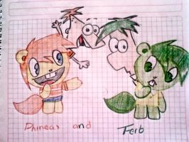 phineas and ferb-normal htf- by Lord-Hon