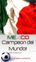Mexico Campeon del Mundo by jaguar404
