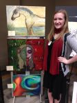 First College art show! by JediSkygirl