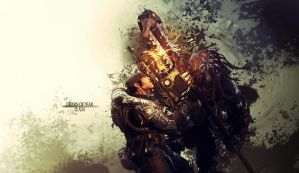 Gears of War Wallpaper - Clash by damienkerensky