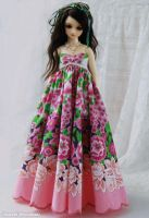 Flover Dress. by ball-jointed-Alice