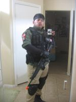 Resident Evil UBCS Mercenary cosplay by Demon-Lord-Cosplay