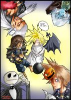 KH Halloween by allymcbeal18 by We-Heart-Sora