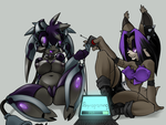 Old: Nega And Ricky by Lavender-Doll