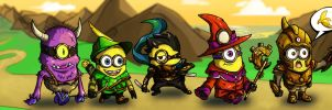 Minion Quest: Search For The Golden Banana by JohnBerryArtworks