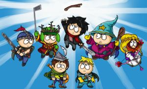 South Park The Stick Of Truth by BlazeHart96