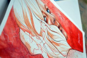 Daydreaming in red by jane-beata