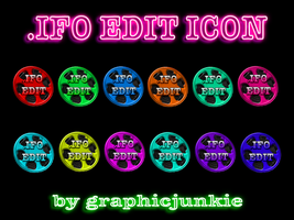 .IFO Edit Colored Glass Icons by graphicjunkie