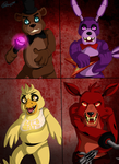 Five nights at freddys by Hunderworld