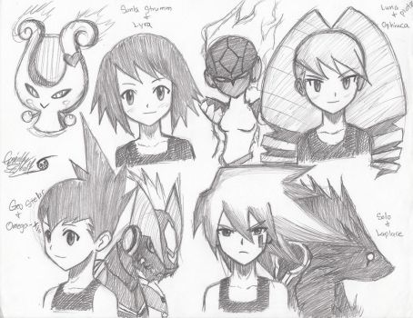 Star Force: Character Practice by SoniaStelar