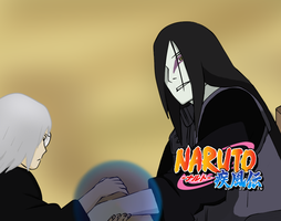 Naruto 583: Kabuto and Orochimaru by NekomataNibi