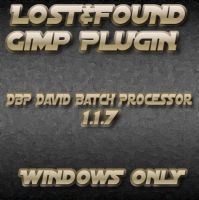 Lost+Found :Gimp batch DPB by photocomix-resources