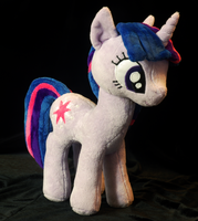 My Little Pony Twilight Sparkle Plushie Right by WhiteHeather