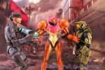 Snake Vs Chief And Samus Too? by AnimatorAR
