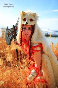 Ninetails Cosplay by Celem