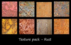 Texture Pack - Rusts by rockgem