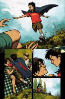The Cape Issue 3 page 2 color by nelsondaniel