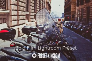 Free Bold Film Lightroom Preset by presetkingdom
