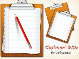 Clipboard PSD And Icons by softarea