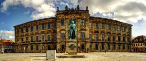 Erlangen Palace panorama by hans64-kjz