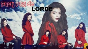 Pack PNG de Lorde by caronchoo