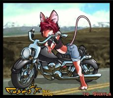 Biker Mousie CL by Foshu
