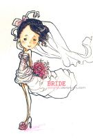 Cute Bride by Danghieu