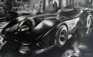 The Batmobile by donchild