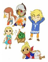 Legend of Zelda -Wind Waker- by Sii-SEN