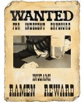 Wanted Poster by StagetechyArt