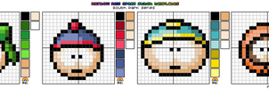 South Park X-Stitch Template by rainbowrei