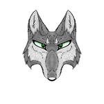 Texture/wolf head experiment by wolftail1999