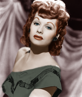Lucille Ball colorization by onlyalive8