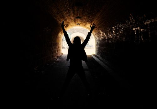 Light in the tunnel by HungryMedicBun