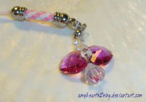 Angel Gem Key Chain by amyhearts2sing