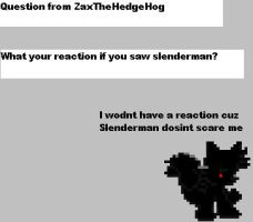 Question from ZaxTheHedgeHog by CozandTails
