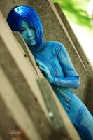 Halo - Cortana 1 by Hyokenseisou-Cosplay