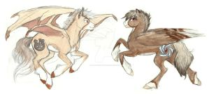 Pegasus Brothers Concept by Earthsong9405