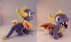 Shark Spyro by StarMassacre