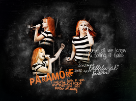 Hayley Williams by XMyHeroiNe