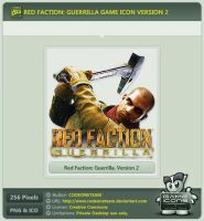 Red Faction: Guerrilla Icon v2 by CODEONETEAM