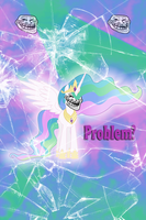 Trollestia Iphone BG by TecknoJock