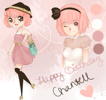 HAPPY BIRTHDAY CHANTELL! by kawaiiti