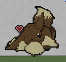 Eevee Pixel Art by BannerWolf